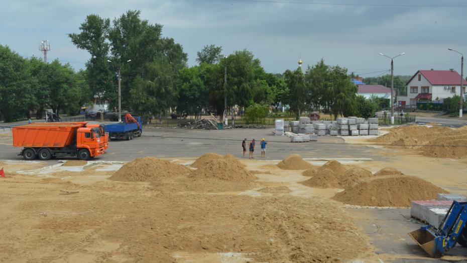 В Петропавловке на благоустройство центральной площади потратят более 16 млн рублей