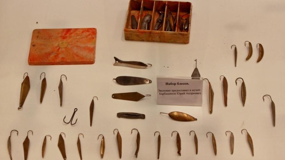 На выставке в Воронеже показали рыболовные снасти, которыми удили триста лет назад