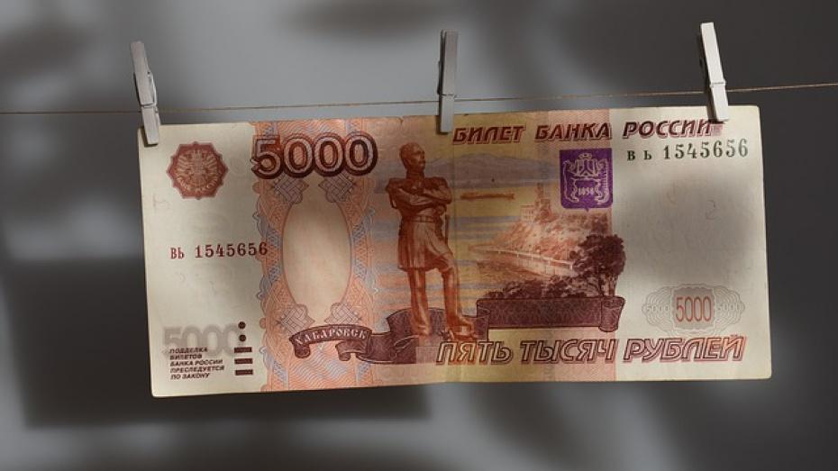 В Воронежской области женщину довела до суда поднятая с пола купюра