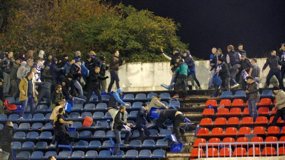 СКРФ не отыскал  криминала встрельбе перед матчем «Факел»— «Динамо»