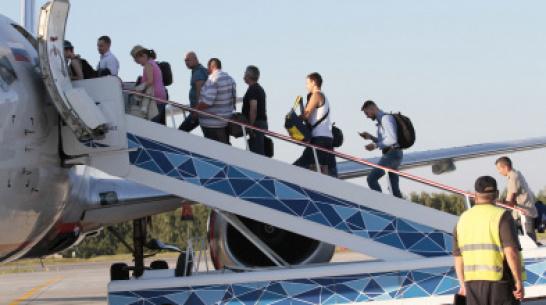 Прямые авиарейсы в Минводы запустят из Воронежа