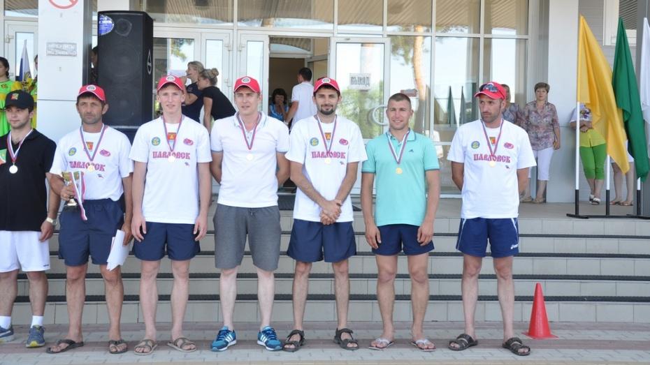 Павловские волейболисты завоевали «золото» Сельских игр