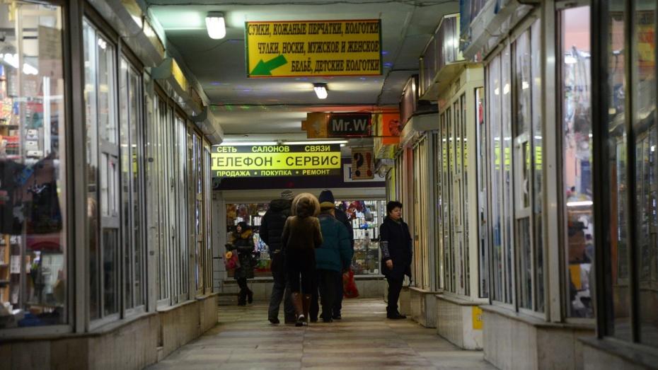 Мэрия Воронежа предупредила торговцев о выселении из перехода у Цирка