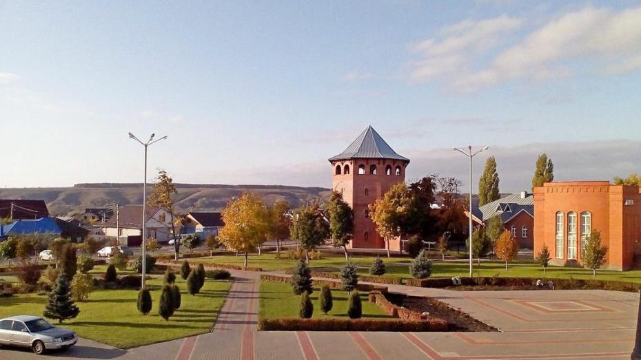 В Лисках на территории краеведческого музея построили сторожевую башню