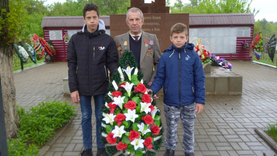 Эртилец через 77 лет нашел могилу погибшего во время ВОВ отца