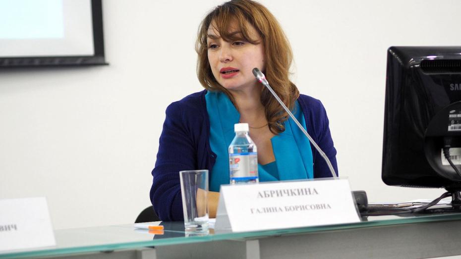 Губернатор Воронежской области подписал указ об увольнении Галины Абричкиной