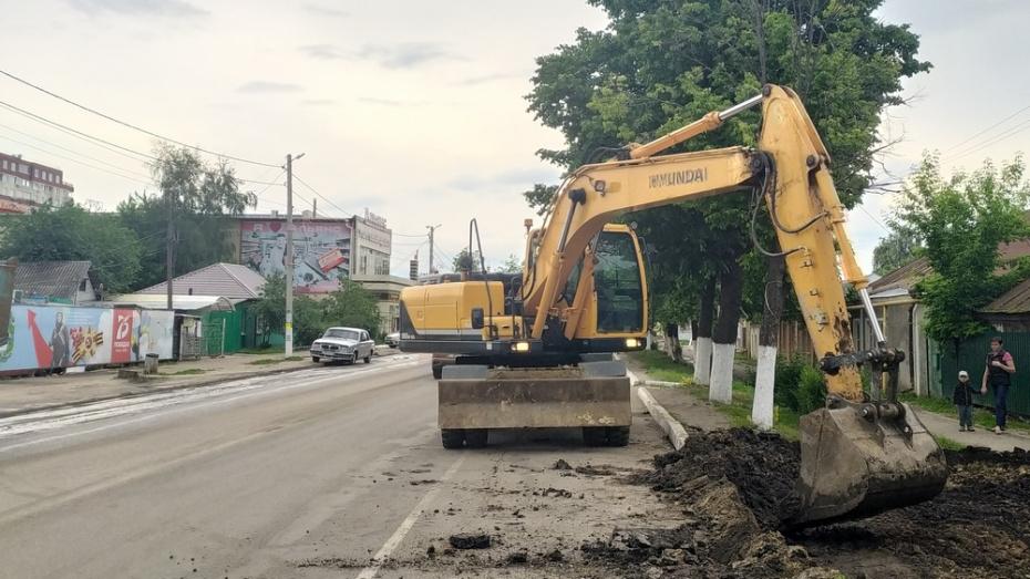 В Новой Усмани центральную улицу благоустроят за 79 млн рублей