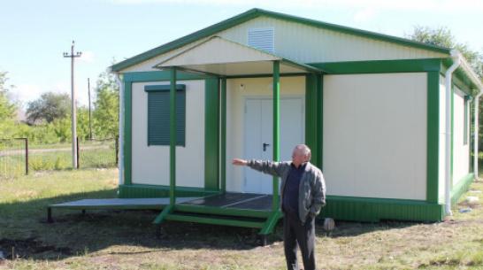 В подгоренском селе Терновое построили быстровозводимый ФАП
