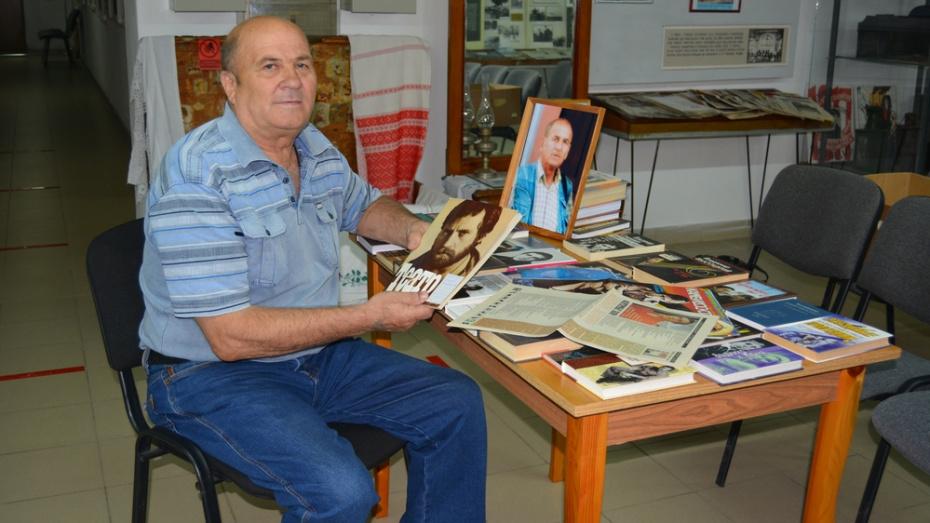 В краеведческом музее Россоши открылась посвященная Владимиру Высоцкому выставка