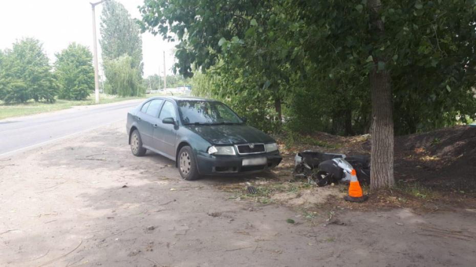 В Воронежской области за сутки погибли 2 мотоциклиста