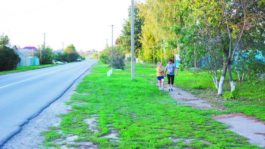 В слободе Подгоренского района построят тротуар за 6 млн рублей