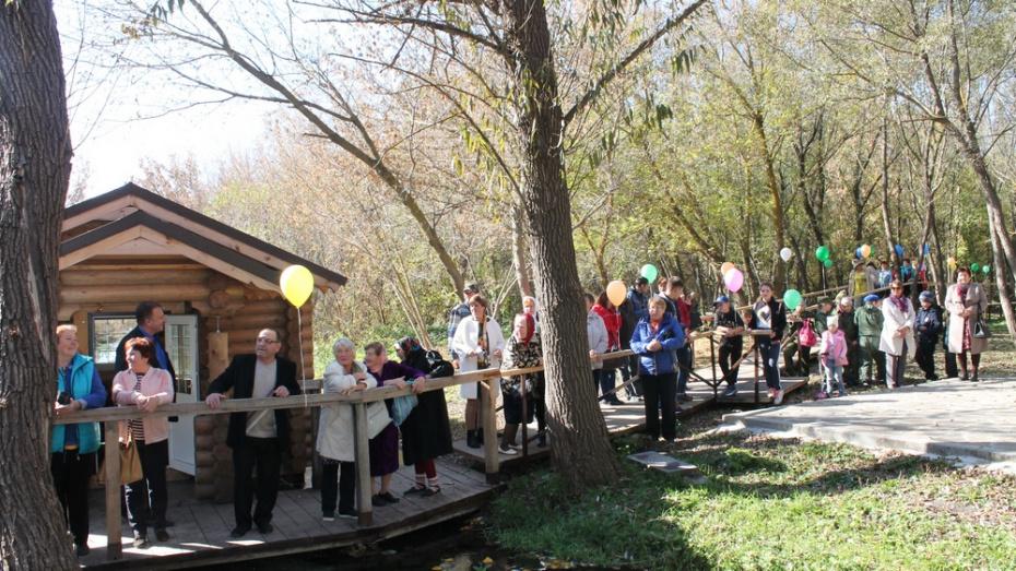В верхнемамонском селе Лозовое появилась  тропа здоровья