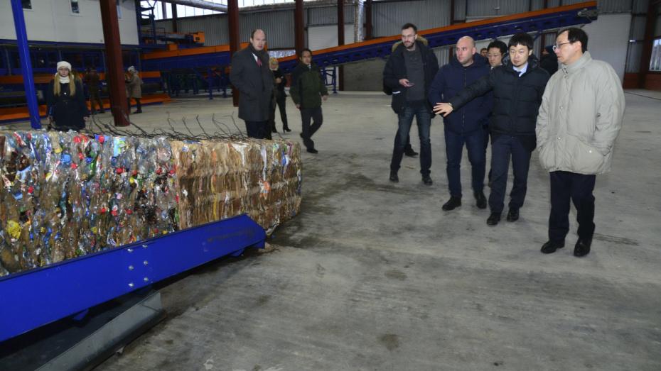 Мусоросортировочный завод под Воронежем откроют в 2018 году
