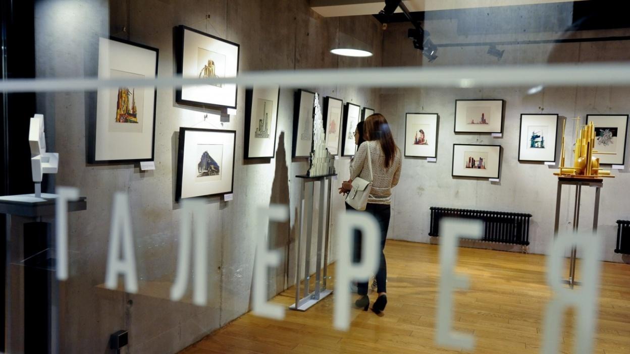 В Воронеже открылась выставка советского архитектора Якова Чернихова
