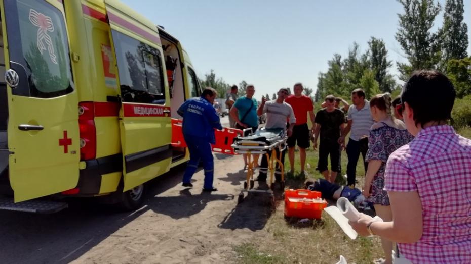В Павловском районе ВАЗ сбил 49-летнего дорожного рабочего