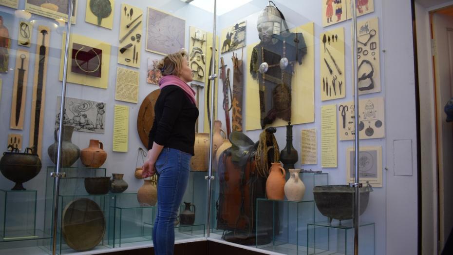 В борисоглебском музее открыли зал археологии