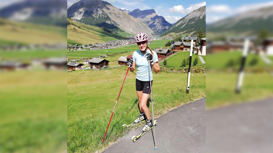 Борисоглебская спортсменка завоевала 2 «серебра» чемпионата России по лыжероллерам