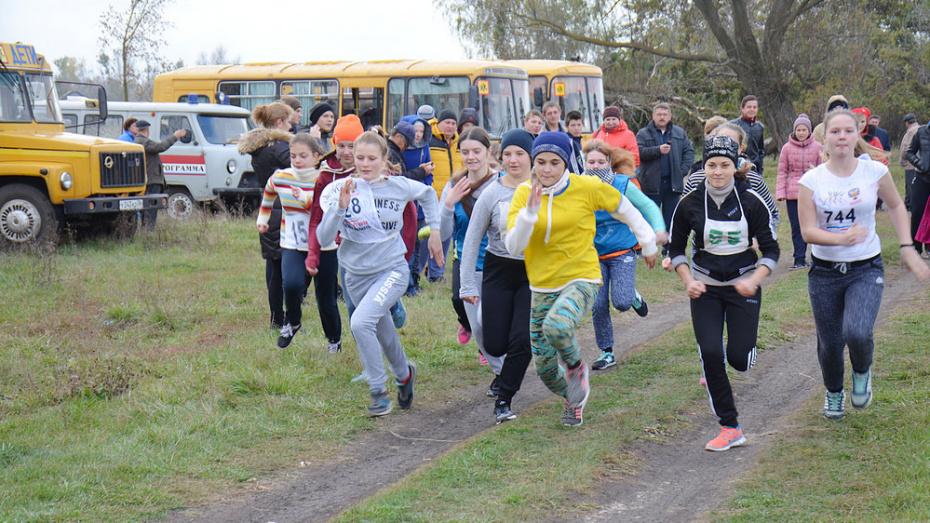 Верхнемамонских школьников пригласили на легкоатлетический кросс на приз районной газеты