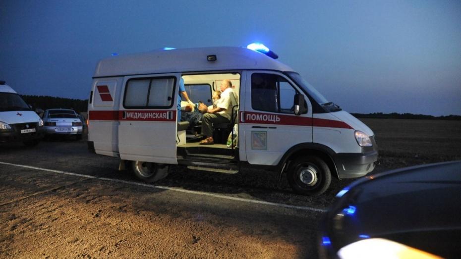 Семь человек пострадали, один умер вмассовом ДТП вВоронежской области