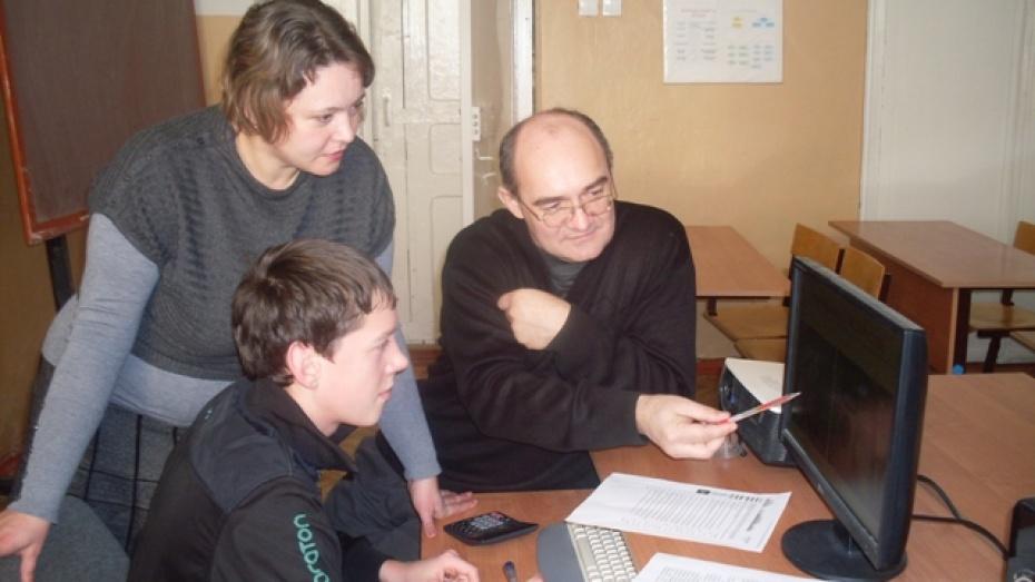 Школьник из Эртильского района победил в конкурсе «Талантливая молодежь Воронежской области»