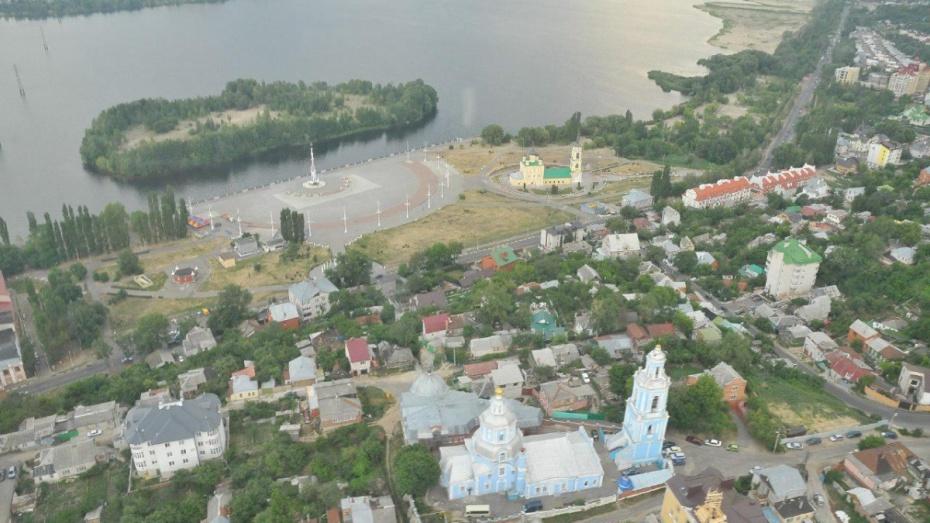Мэрия Воронежа превратит Петровскую набережную в рекреационную зону