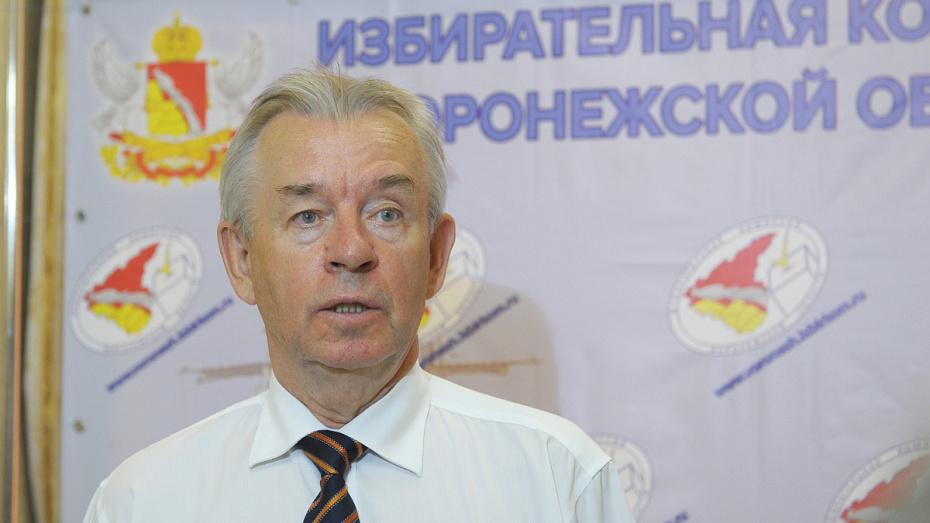 Член ЦИК России оценил готовность воронежского облизбиркома к единому дню голосования