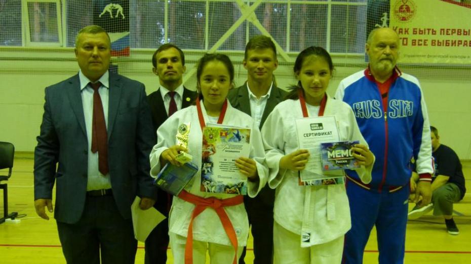 Павловская спортсменка стала золотым призером открытого районного первенства по дзюдо