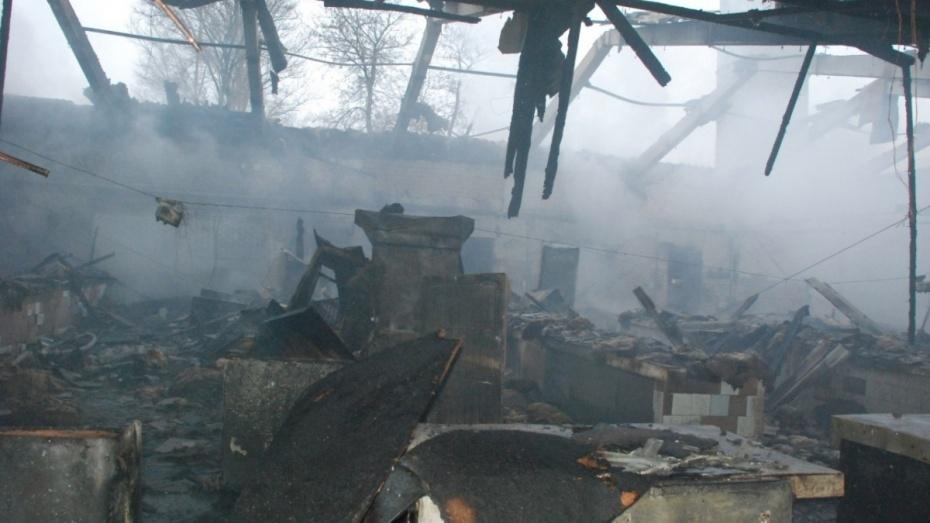 Поджигатель возлюбленной в Воронежской области выбрался из горящего дома и остался жив