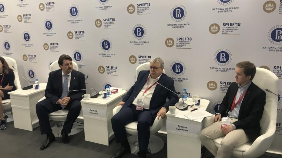 Воронежская область запланировала сотрудничество с Высшей школой экономики в 2018 году