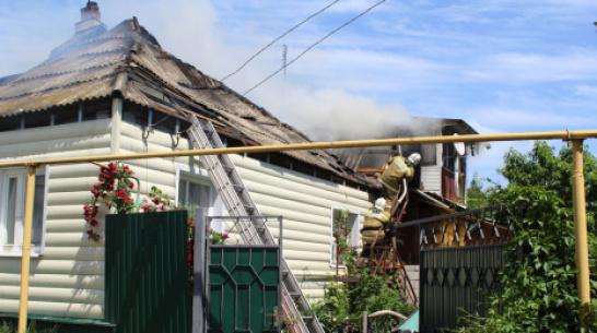 Ольховатские журналисты объявили сбор денег для пострадавшей от пожара семьи