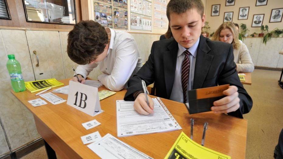В Воронежской области более 11 тыс школьников будут сдавать ЕГЭ в 2015 году
