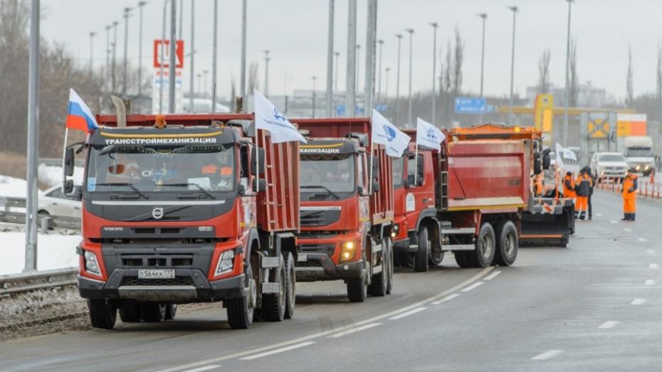 Министр транспортаРФ торжественно открыл новый участок дороги М4 «Дон»