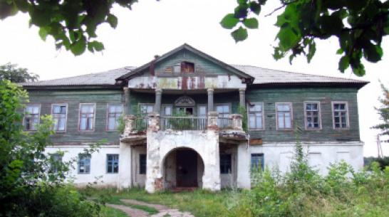 В Воронежской области уберегли от сноса уникальную усадьбу начала XIX века