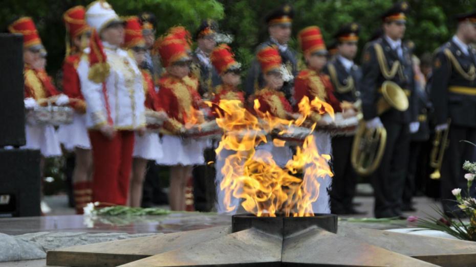Горсти земли с 483 воинских захоронений из Воронежской области доставили в Москву