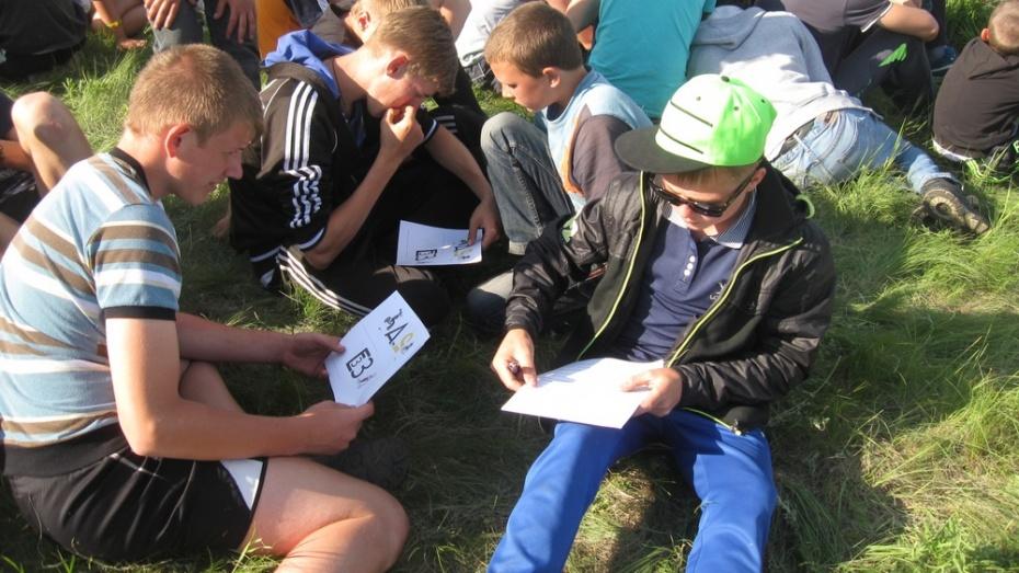 В Таловском районе завершил работу палаточный лагерь «Преодоление»