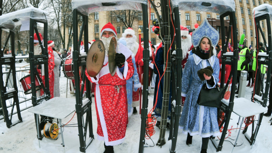 Глава воронежской полиции: в Новый год на площади Ленина не работали 4 металлодетектора