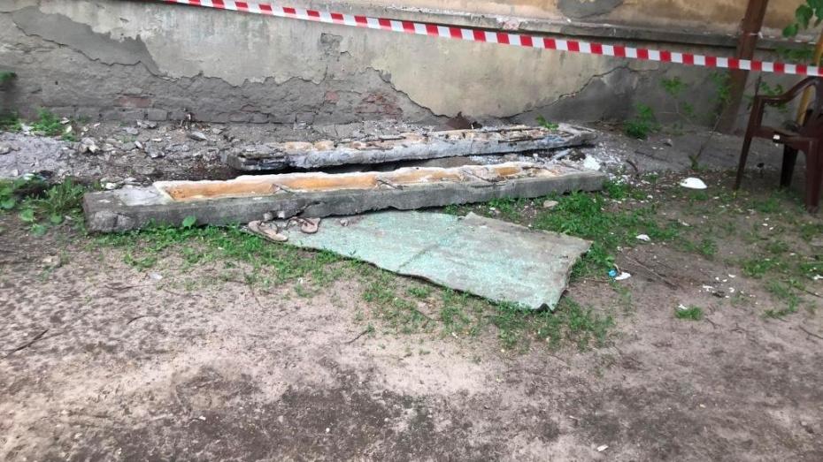 Прокуратура выяснила причину обрушения балкона вместе с женщиной в Воронеже
