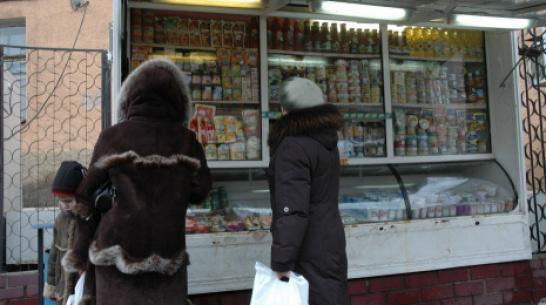 Стоимость набора продуктов в Воронежской области повысилась до 3713 рублей
