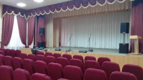 В Таловском районе в сельский Дом культуры закупили оборудование на 2,5 млн рублей