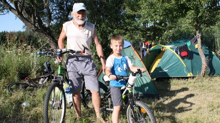 В Анне побывали урюпинские велотуристы