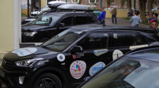 Прошедший через Воронеж международный автопробег подружит КНДР и Южную Корею