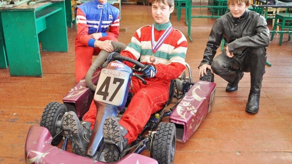 Бутурлиновец занял второе место на зимнем этапе кубка Воронежской области по картингу