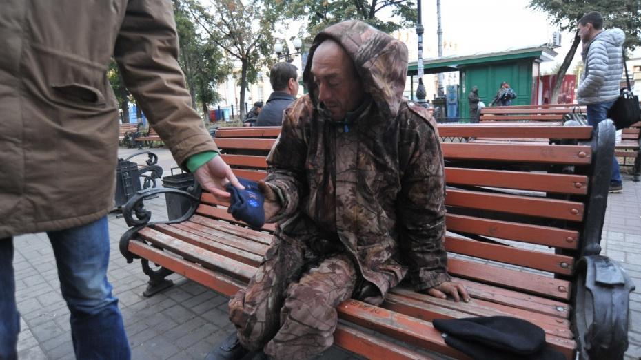 Репортаж РИА «Воронеж». Как волонтеры подарили воронежским бездомным рукавицы и свитера
