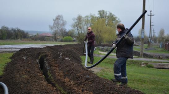 В Нижнедевицком районе отремонтируют 5 км водопроводных сетей
