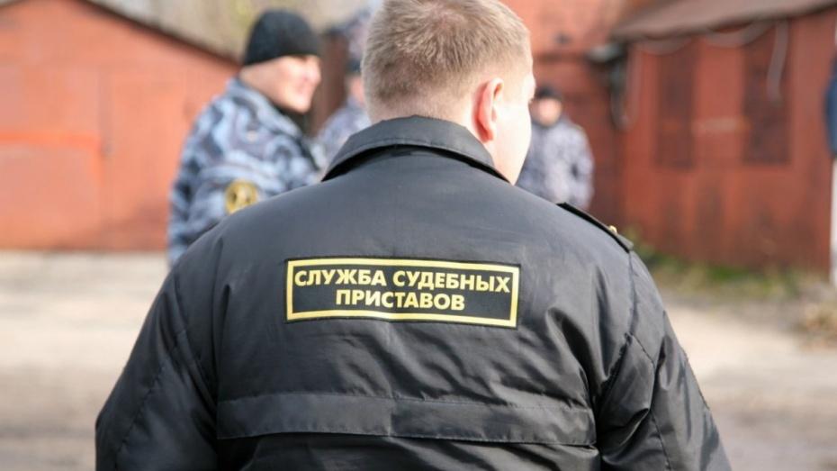 Судебные приставы забрали KIA Rio у задолжавшей по кредиту жительницы Воронежа