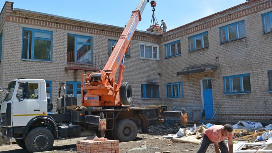 В Богучарском районе капитально отремонтируют детсад «Родничок» и Дьяченковскую школу
