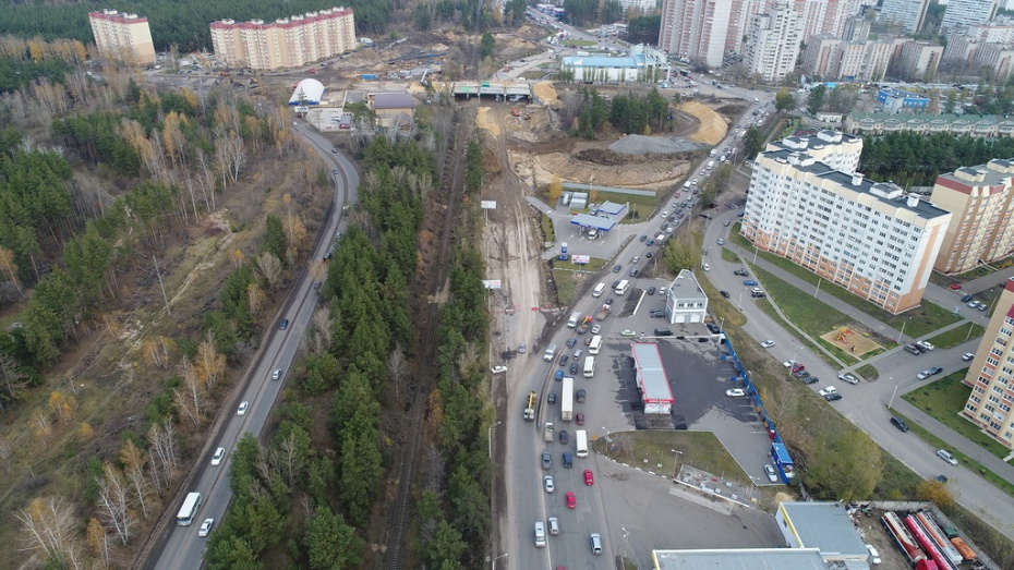 Мэр Воронежа поручил соблюсти сроки по строительству развязки на Антонова-Овсеенко