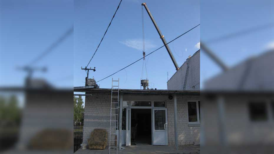 В рамонском поселке ВНИИСС на ремонт спортзала выделили более 20 млн рублей