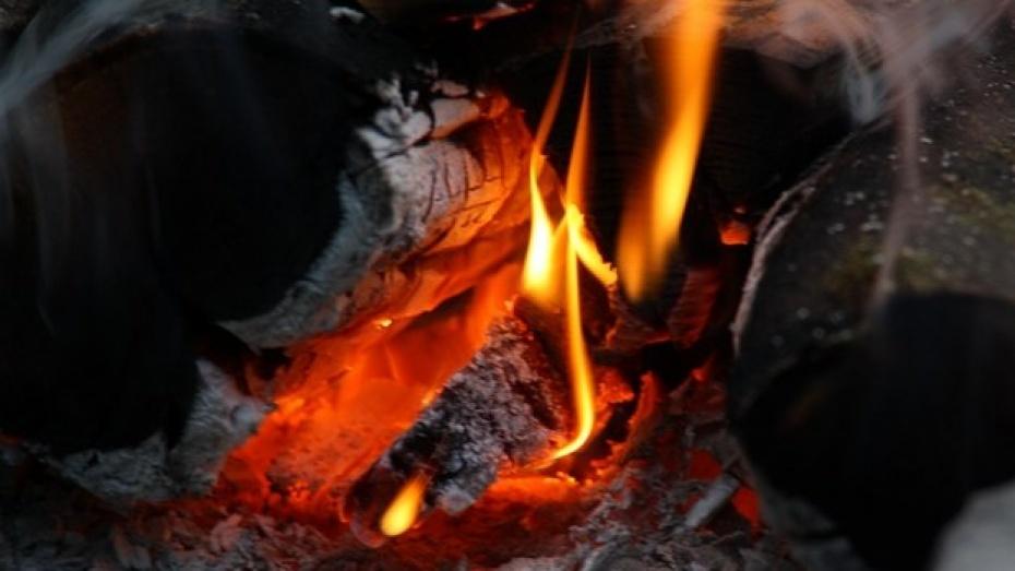 В Семилукском районе сгорел Fiat