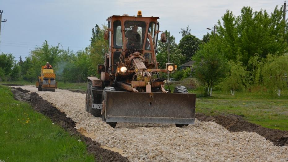 На ремонт дорог в Поворинском районе выделили 40 млн рублей